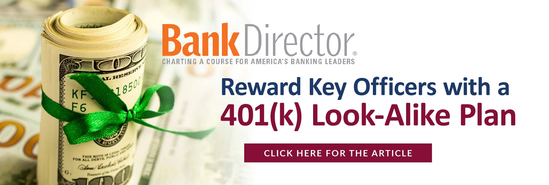 Bank Director - What Are the Best Ways to Fund Your Retirement Plans for Executives and Directors?